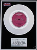 "LINDISFARNE - 7"" Platinum Disc -  MEET ME ON THE CORNER"